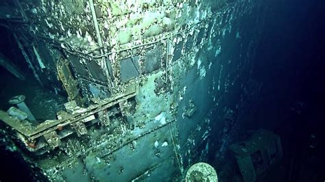 Mystery Target: The Wreck of the USS Peterson   Nautilus