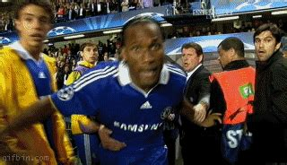 Soccer - Drogba Is Pissed | Best Funny Gifs Updated Daily
