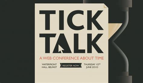 Tick Talk - A Web Conference About Time - Webdesign
