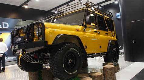 UAZ HUNTER 4x4 Offroad Tuning - Exterior and Interior