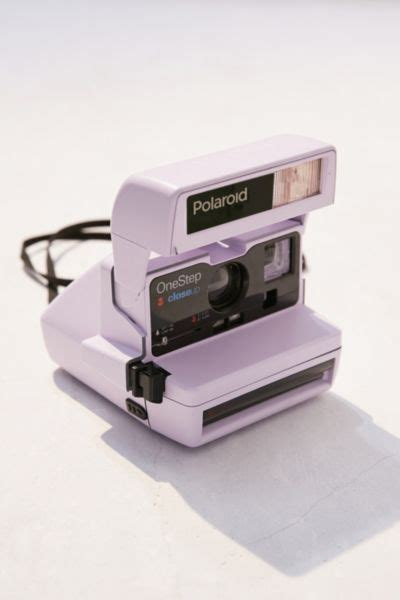 Impossible X UO Refurbished Lavender Close-Up Polaroid 600