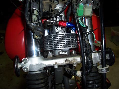 Honda XR400 Oil Cooler pic's
