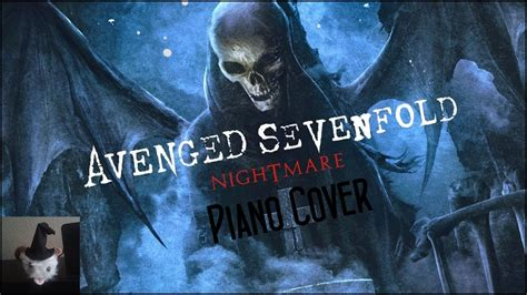 Avenged Sevenfold - Nightmare (Piano Cover) - YouTube