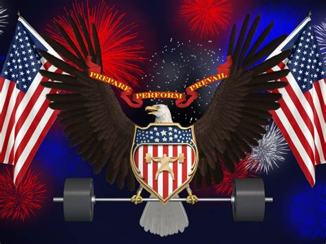 American Eagle And Flag Images July Usa Fireworks Memorial