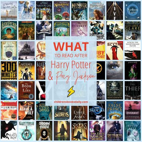 Books similar to percy jackson and harry potter