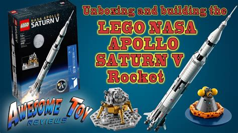 LEGO Apollo 11 Saturn V - Awesome Toy Reviews - 008 - YouTube