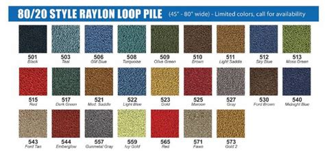 Molded Carpet for 1959 - 1960 Impala, Bel Air, Your Choice