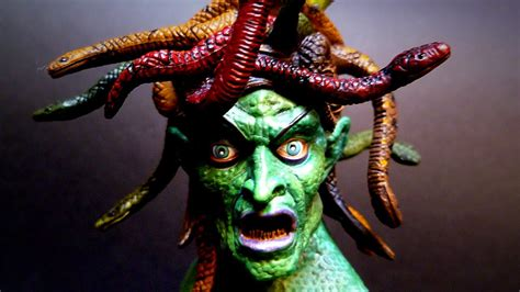 Clash of the Titans MEDUSA Action Figure Review - YouTube