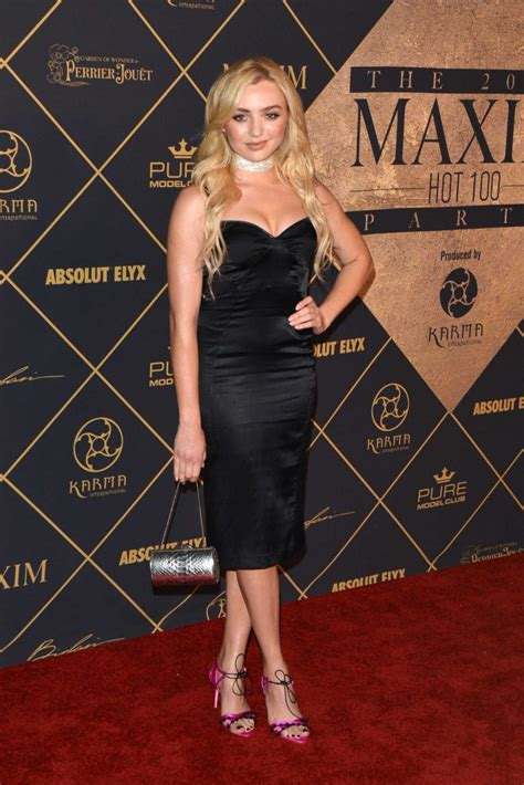 Peyton List Arrives to The Maxim Hot 100 Event in