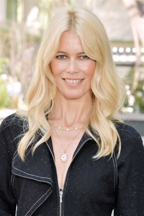 Claudia Schiffer Arrives at the Chanel Show During the