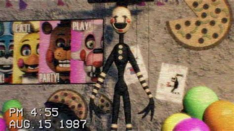 [FNAF] The Puppet footage tape 1987 - Five Nights at
