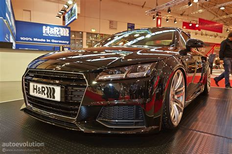 2015 Audi TT Debuts With Performance Lowering Springs from