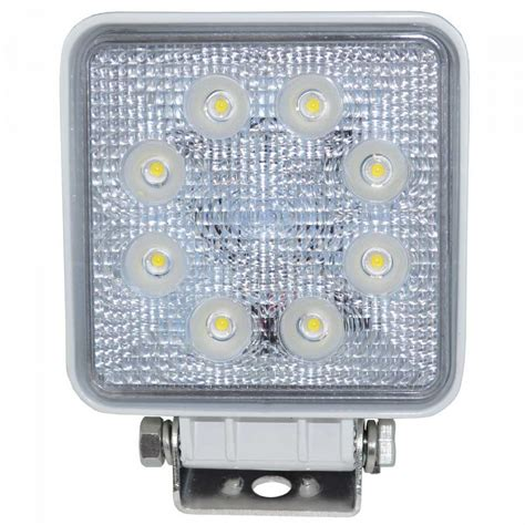Deck Tech 12V/24W Waterproof 8 LED Flood Light White, $99