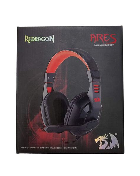 Redragon Ares Gaming Headset Black/Red - iWay