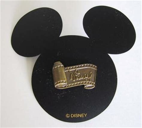 Disney logo on film strip pin (WDCC) from our Pins