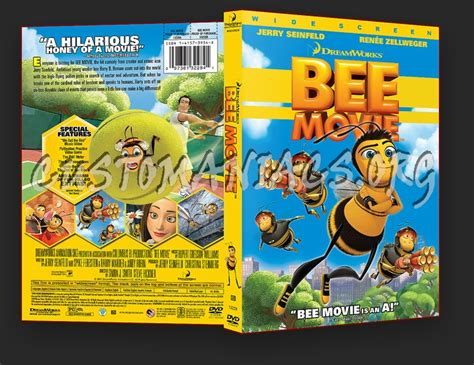 Bee Movie dvd cover - DVD Covers & Labels by Customaniacs