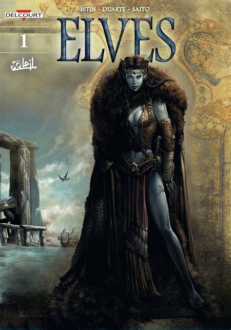Elves #1 - The Crystal of the Blue Elves (Issue)
