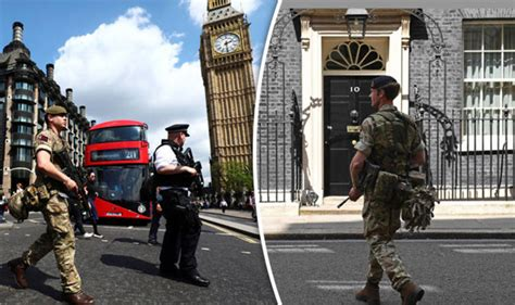 Armed soldiers guard London amid Manchester terror attack