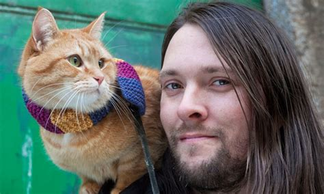 James Bowen and Bob the cat: 'He's named after the killer