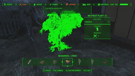 Fallout 4 Base Building, Settlement Guide - Food, Water