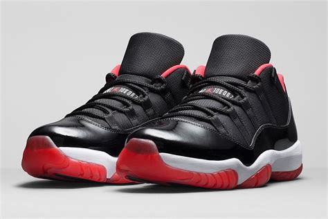 Air Jordan 11 Low Bred 2015 - Release Date