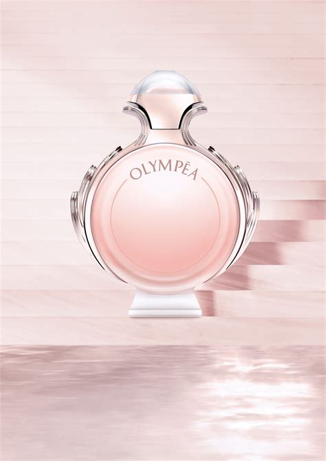 Olympea Aqua Paco Rabanne perfume - a new fragrance for