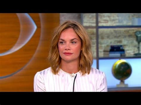 "Ruth Wilson on ""The Affair"" and institution of marriage"