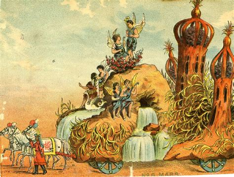 Mardi Gras Floats of 1896: The Mystic Krewe of Comus