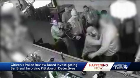 New video released of bar fight between Pittsburgh police