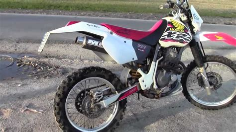 Honda XR 400R - YouTube
