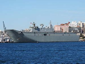 Canberra-class landing helicopter dock - Wikipedia