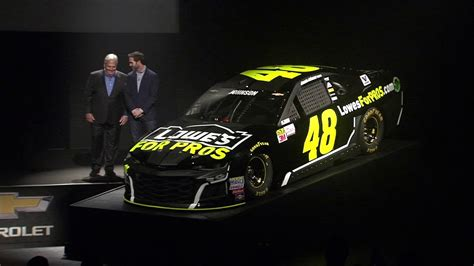 Brand new look for Jimmie Johnson's No