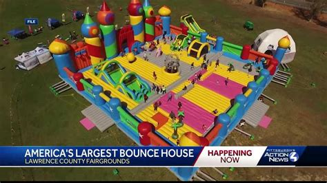 'World's biggest bounce house' coming to Lawrence County