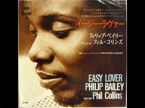 """Phil Collins & Philip Bailey - Easy Lover (12"""" White Label"""
