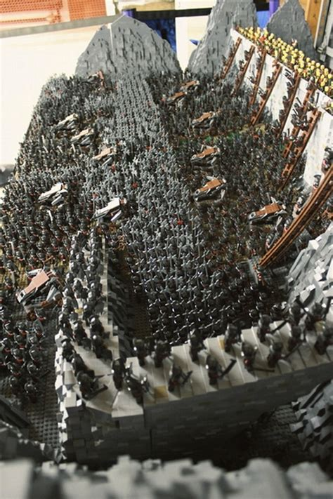 'Lord Of The Rings' Battle Scene Intricately Recreated