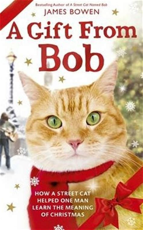 Review and Giveaway: A Gift from Bob by James Bowen - The