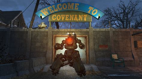 Fallout 4 Mods of the Week: Robot Home Defense, Holiday