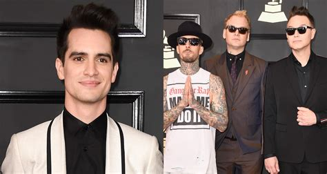 Brendon Urie & blink-182 Hit Up the Grammys 2017 | 2017