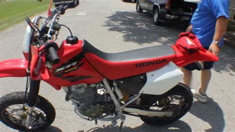 Honda XR400R Supermoto - YouTube